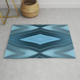 stripes wave pattern 6v2 coi Rug