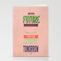 word Stationery Cards featuring WORD by Anthony Morell