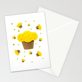 Fake cake Stationery Cards