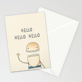 Hello, Aloha, Ciao, Hallo, Salut, Hei, Hola... Stationery Cards