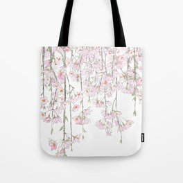 pink cherry blossom spring 2018 Tote Bag