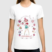 cupcakes T-shirts featuring Cupcakes by Meldoodles