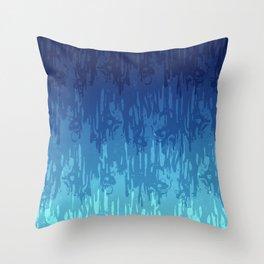 Meltdown Cold Throw Pillow