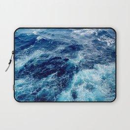 Rough Ocean Waves Laptop Sleeve