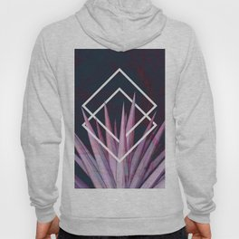 Tropical Desire at Night  #tropical #foliage #geometry Hoody