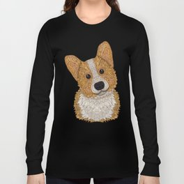 Cute Corgi Long Sleeve T-shirt