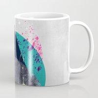 minimalism Mugs featuring Minimalism 10 by Mareike Böhmer