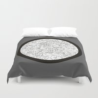 mirror Duvet Covers featuring Mirror by 5wingerone