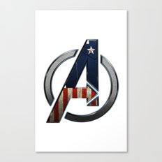 UNREAL PARTY 2012 THE AVENGERS  CAPTAIN AMERICA  Canvas Print