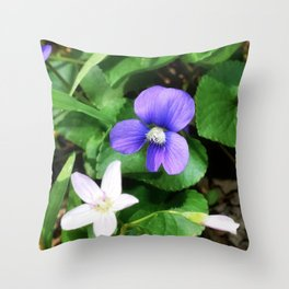 Violet 05 Throw Pillow