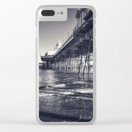 Underneath Eastbourne Pier Clear iPhone Case