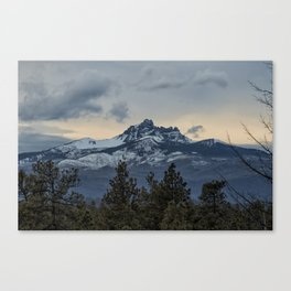 Good Night Mountain Canvas Print