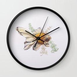 Goldfish - Watercolor Wall Clock