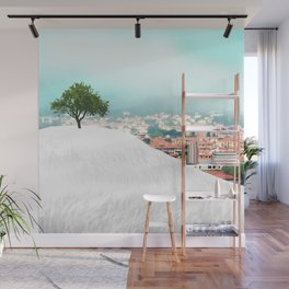 Beyond the Hill Wall Mural