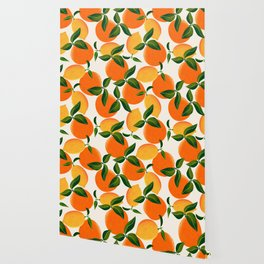 Oranges and Lemons Wallpaper