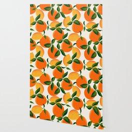 Oranges and Lemons Wallpaper