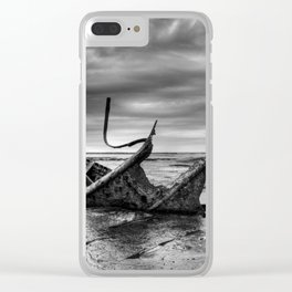 Admiral Von Tromp at Black Nab Clear iPhone Case