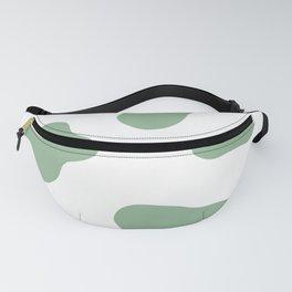 Moo green Fanny Pack