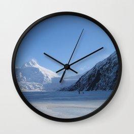 Portage Glacier Wall Clock
