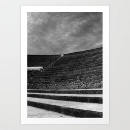Pompeii - A City Uncovered - 4 Art Print