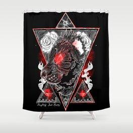 Everything Shall Burn Shower Curtain