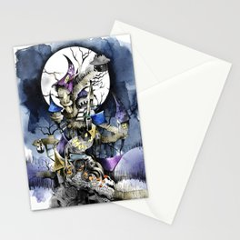 The nightmare before christmas Stationery Cards