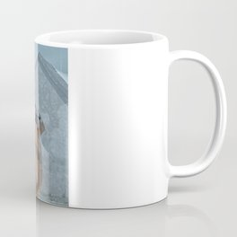 Peace and Love in the fishermans village Coffee Mug