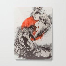 monster war Metal Print