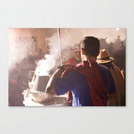 Comme superman Canvas Print