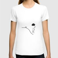 depression T-shirts featuring depression grief illness by Lineamentum