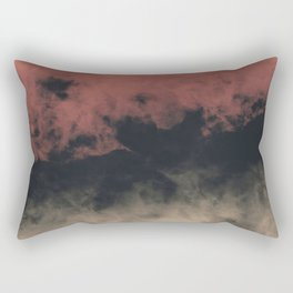 Zero Visibility Dust Rectangular Pillow