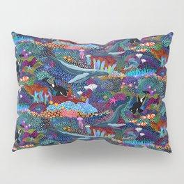 Whale Ocean Life Pillow Sham