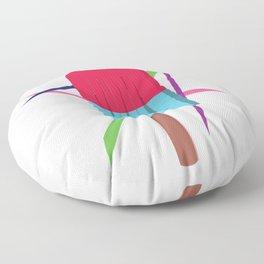 Retro popsicle Floor Pillow