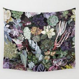 succulent garden Wall Tapestry