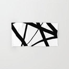 A Harmony of Lines and Shapes Hand & Bath Towel