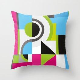 Creative Geometric Design Throw Pillow