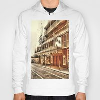 broadway Hoodies featuring Give My Regards To Broadway by Christine Workman