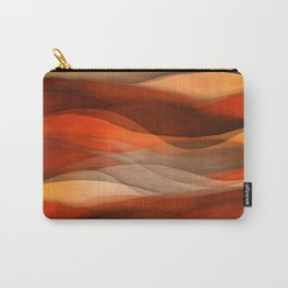 """""""Sea of sand and caramel waves"""" Carry-All Pouch"""