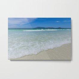 Beach in Cabo Frio, Brasil Metal Print
