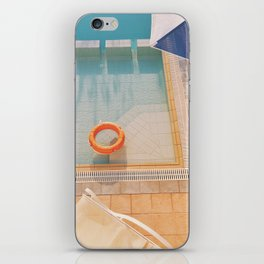 Swimming Pool iPhone Skin