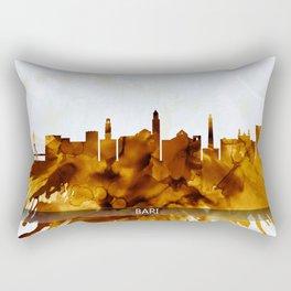 Bari Italy Skyline Rectangular Pillow