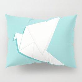 Origami pigeon Pillow Sham