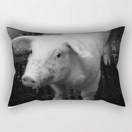 The Pig Rectangular Pillow