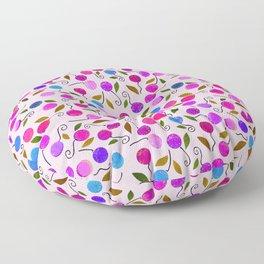 cherry-berrie jumble ... Floor Pillow