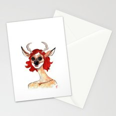 The Masquerade:  The Doe Stationery Cards
