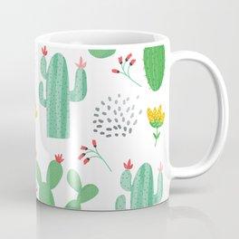 Colorful cacti watercolors illustration Coffee Mug