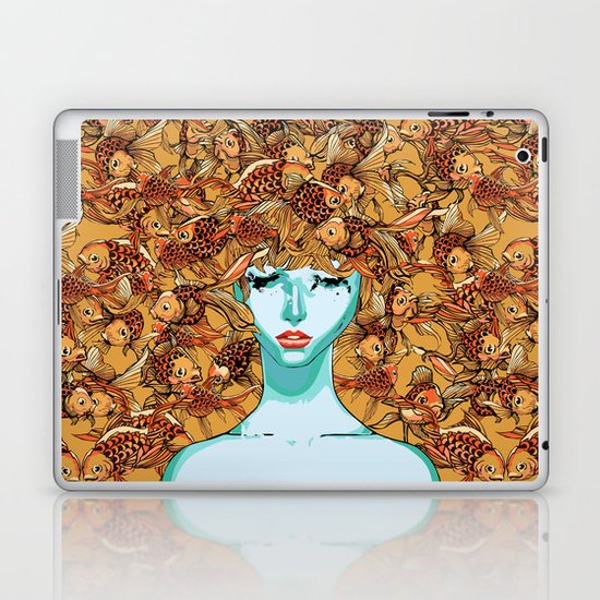 Head up, love Laptop & iPad Skin
