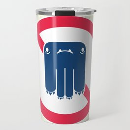 Road Closed to All Monsters Travel Mug