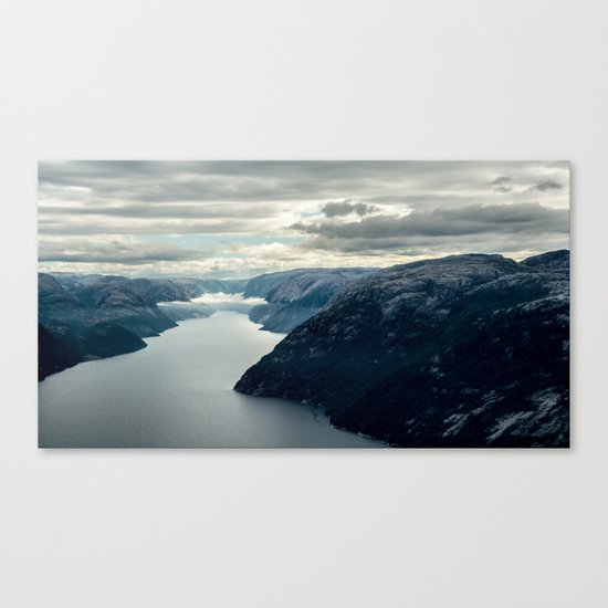 Moody landscape III Canvas Print