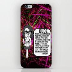 Dude. Rave. Dub. iPhone & iPod Skin